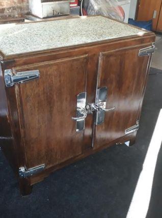 Ancien frigo bois  1930