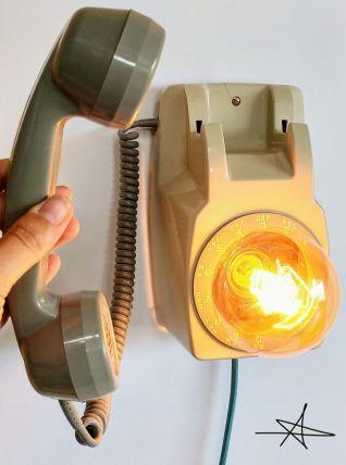 """Lampe murale industrielle, Applique vintage - """"Décroche !"""""""