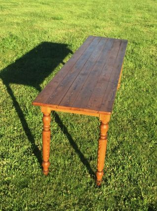 Authentique table de Couvent