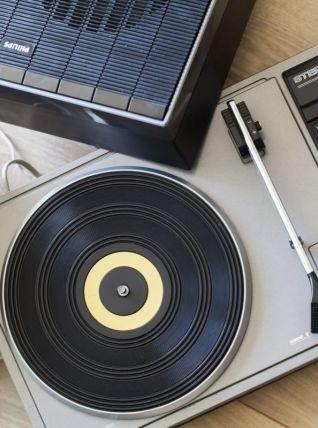 Tourne disque Philips 400 stéréo - Vintage 70s