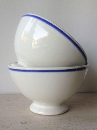 Duo de bols ancien - Porcelaine de Gien