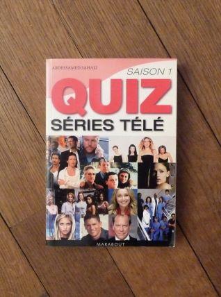 Le Quiz Séries Télé -Saison 1 -Abdessamed Sahali - Marabout