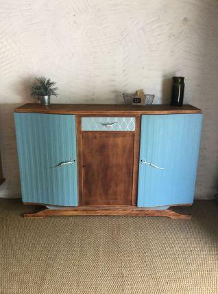 Buffet bas Art Déco vintage