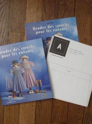 Broder Des Smocks Pour Les Enfants Avec Patrons-Egle Salvy