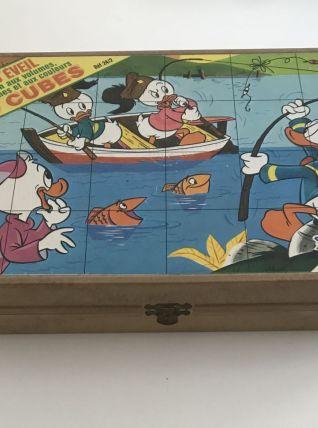 Boite de 24 Cubes Disney France Jouet - ref 24/2