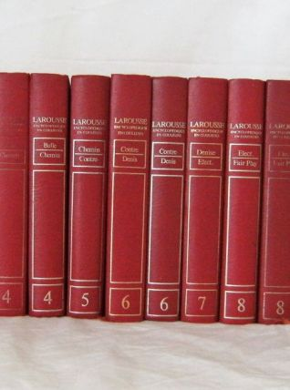 Lot 36 volumes Larousse encyclopédique en couleurs