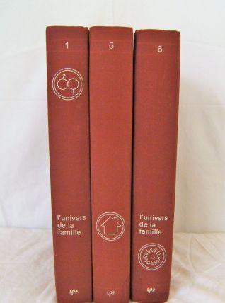 Lot de 3 volumes de L'univers de la famille