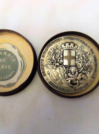 Médaille monnaie de paris 1896 signé D stapfon