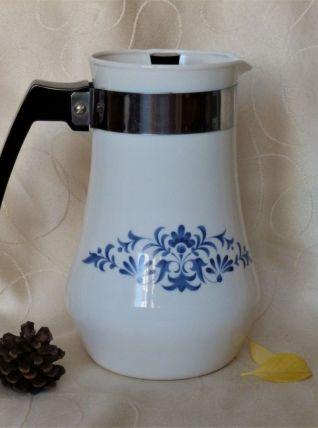 Petite  cafetière  ou théière vintage  Arcopal.