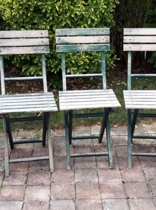 Lot de 5 chaises pliantes