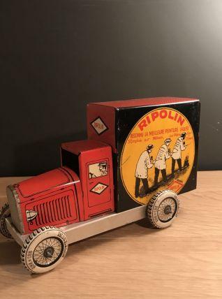 Petit camion Ripolin en tôle