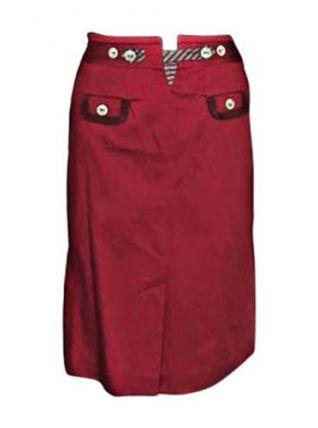 Jupe mi-longue KENZO Rouge Très bon état