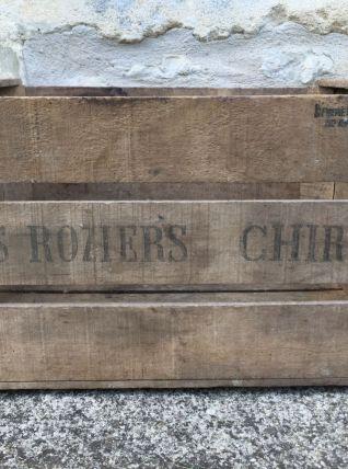 Ancienne caisse à pommes, DES ROZIERS CHIRAC