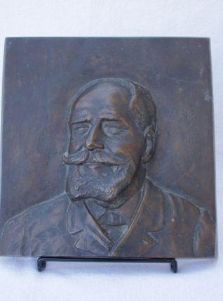 Bas relief en bronze France fin du 19ème siècle
