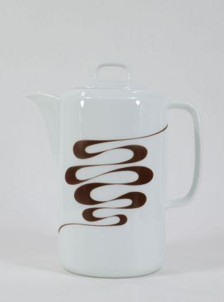 Cafetière en porcelaine