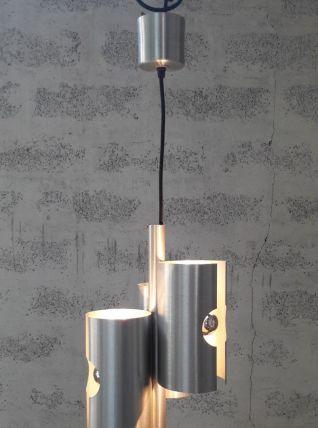 Suspension alu brossé design 70's