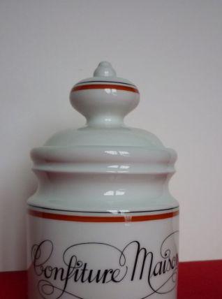 Pot à confiture Porcelaine d'Auteuil