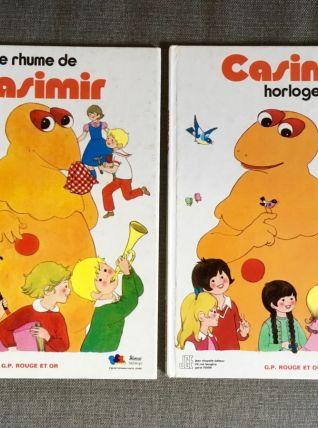 Casimir Ile aux enfants série enfants TF1 2 livres illustrés