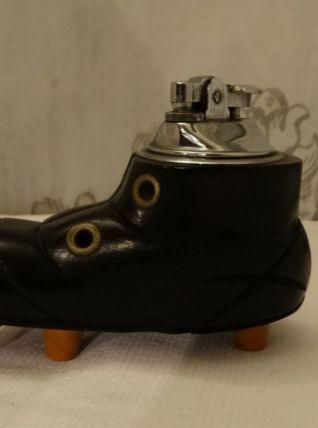 Vintage collection briquet chaussure en bois marque penguin