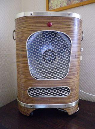 Radiateur portatif vintage 1950 parfait état