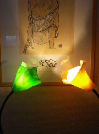 2 Lampes bras tubulaires articulés - 1970