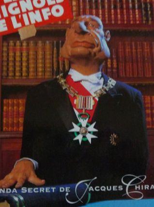 L'agenda secret de Jacques Chirac