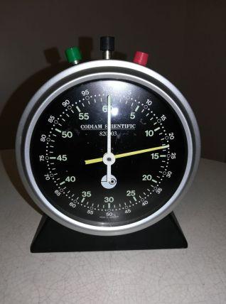 Grand chronomètre de table années 70