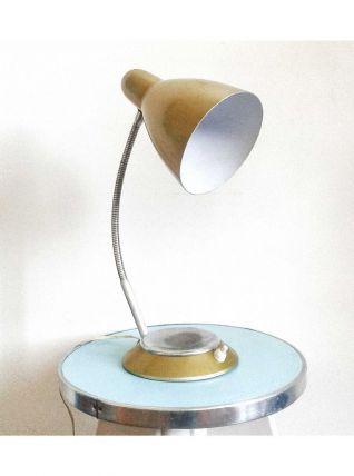 Lampe jaune 60's