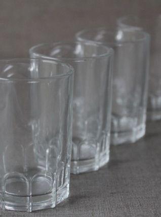 Ensemble de 4 verres forme de mini chopes à bière vintage