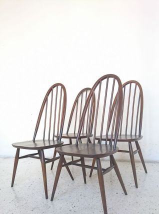 4 chaises Ercol Windsor