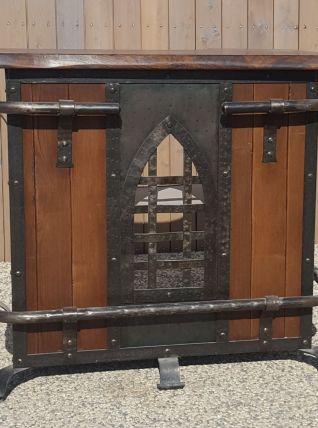 Bar steampunk bois&métal