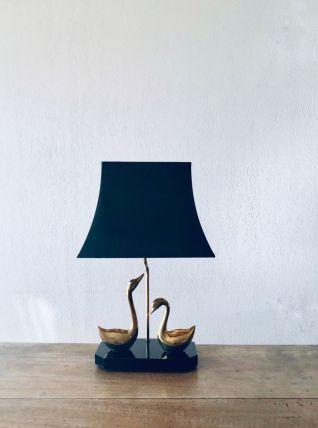 Lampe canards art déco style maison Charles