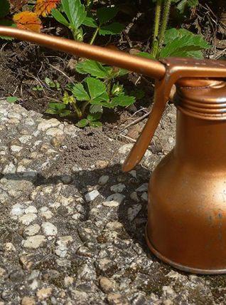 burette a huile ancienne Jex