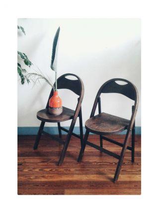 Paire de chaises Thonet B751 design Bauhaus