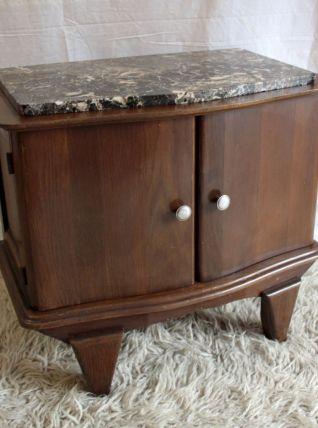 Table de chevet style Art Déco – années 50