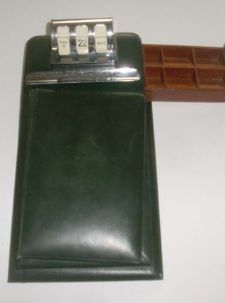Dateur Calendrier Perpétuel Porte Stylo Bloc Note Vin