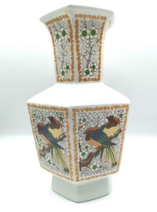 Vase octogonal esprit japon
