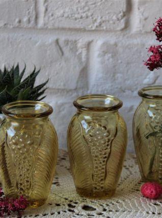 Ensemble de 3 vases art déco Français Vintage