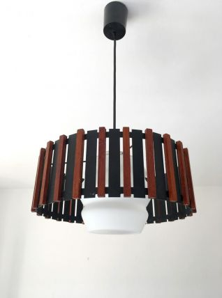 Suspension scandinave vintage années 60