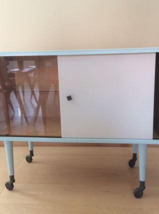 meuble TV bar vintage