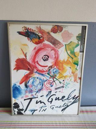 affiche Jean Tinguely art moderne Centre Pompidou 1988-89 av