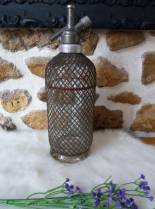 siphon ancien grillagé Sparklets