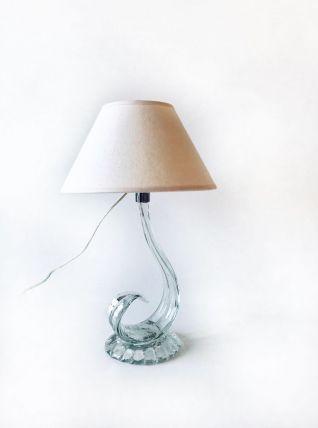 Lampe ancienne en verre