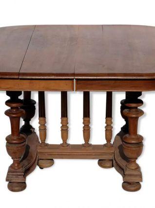 Table ancienne à rallonges ovale