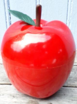 Seau à glace pomme rouge