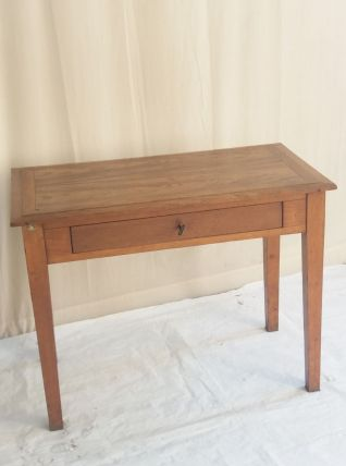 TABLE BUREAU ANCIENNE EN CHENE