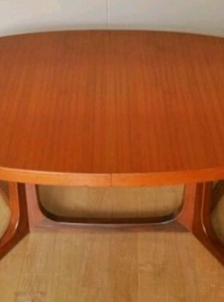 Table baumann vintage scandinave