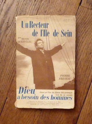 Un Recteur De l' Ile De Sein- Henri Queffelec - Stock- 1951