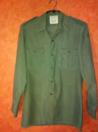 chemise veste armée moleskine
