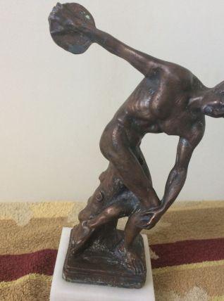 statuette bronze .magnifique